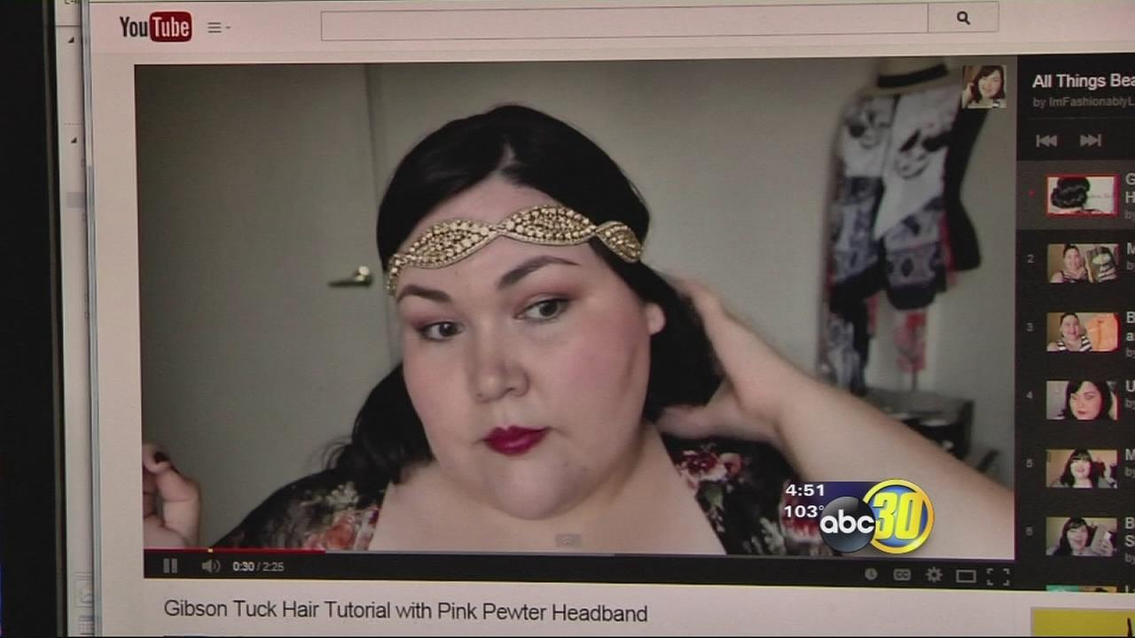 Valley fashion blogger spreading message of empowerment to plus-size women