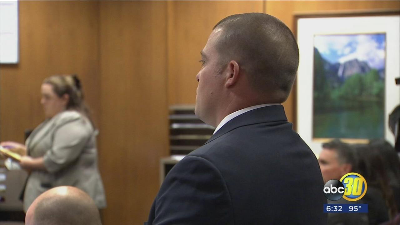 Deputy Jared Mullis pleads not guilty to involuntary manslaughter of Sgt. Rod Lucas