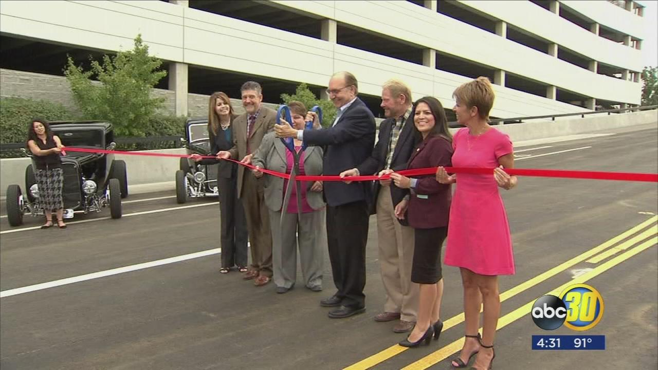 Ribbon cutting held to reopen Tuolumne Bridge to traffic