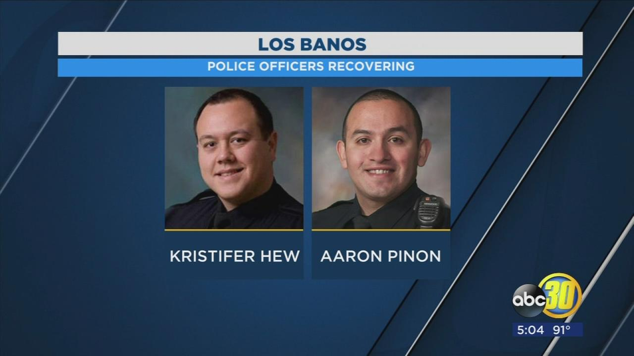 Los Banos officers injured in officer involved shooting identified