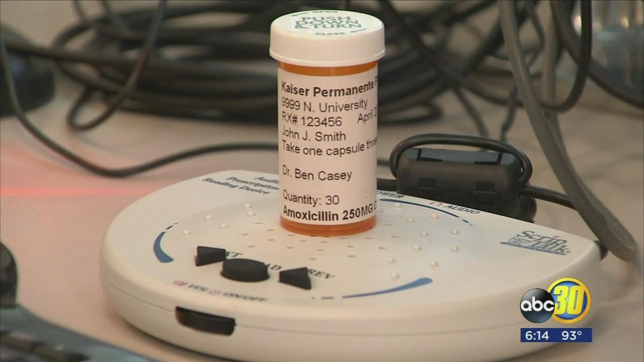 Fresno medical center is filling prescriptions that talk to the patient