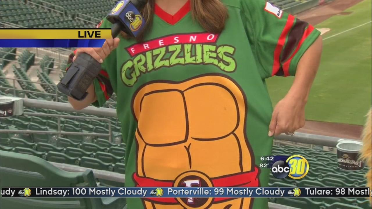 Fresno Grizzlies to wear Teenage Mutant Ninja Turtles jerseys