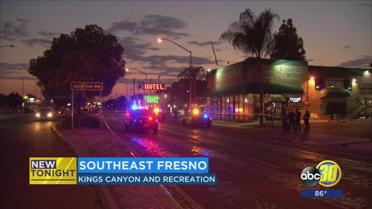 Man shot while fighting off robbery suspects in Southeast Fresno