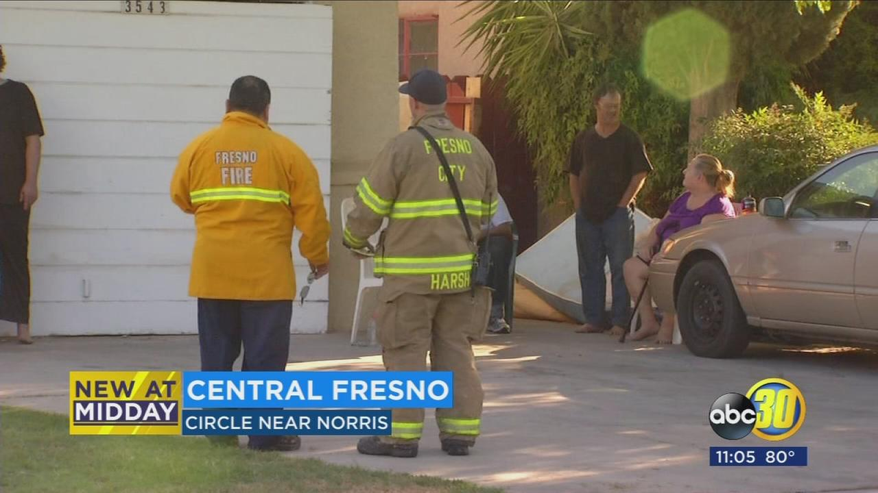 2 injured, 7 displaced in Fresno assisted living house fire