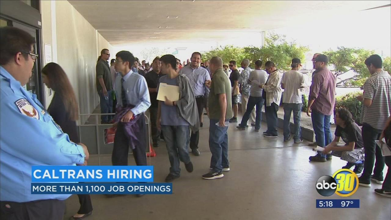Caltrans holding hiring events as it plans for heftier workload