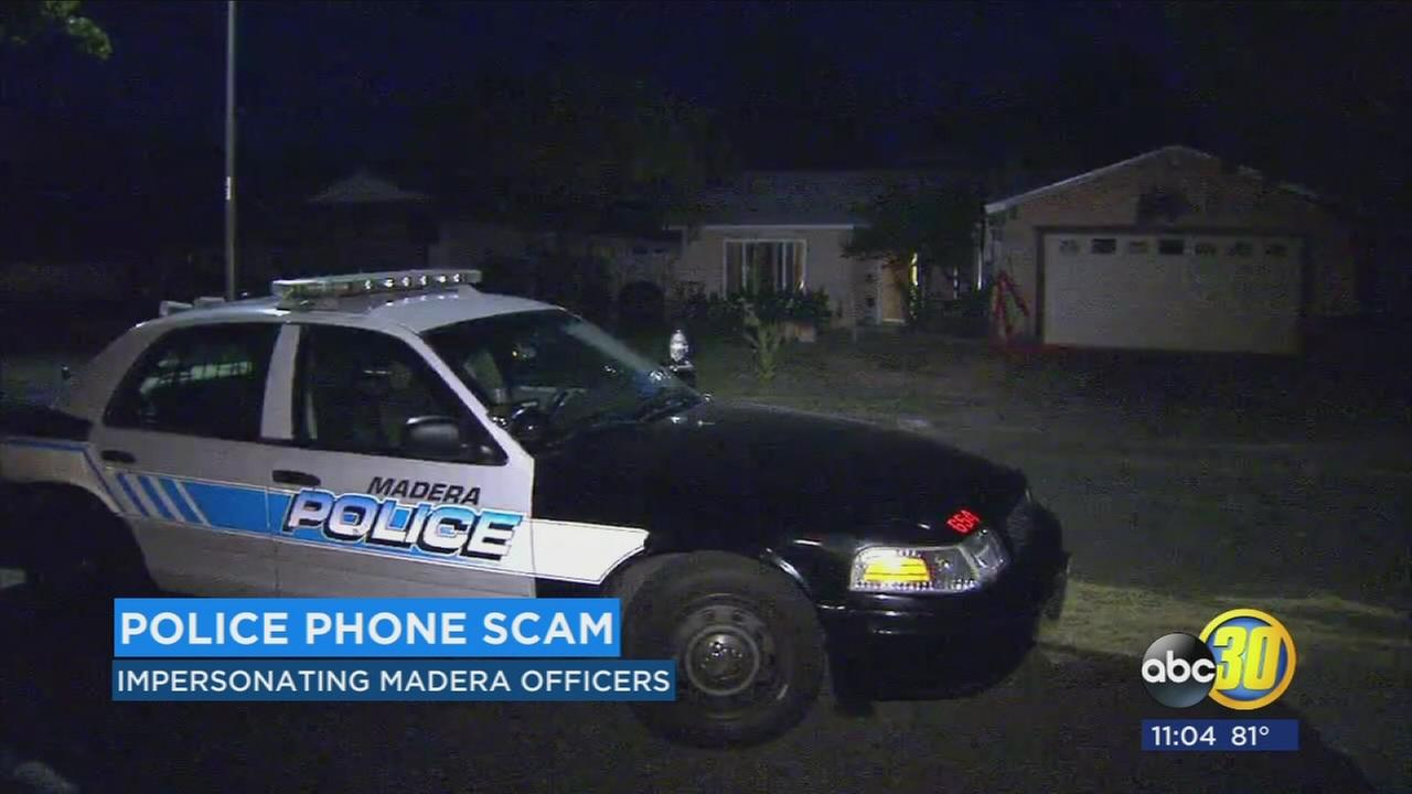 Madera police warn Valley residents of phone scammers impersonating officers