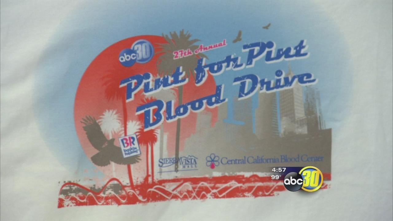 pint for pint blood drive