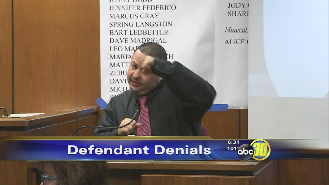 Testimony from the defendants on trial for the murder of Christopher Zuniga
