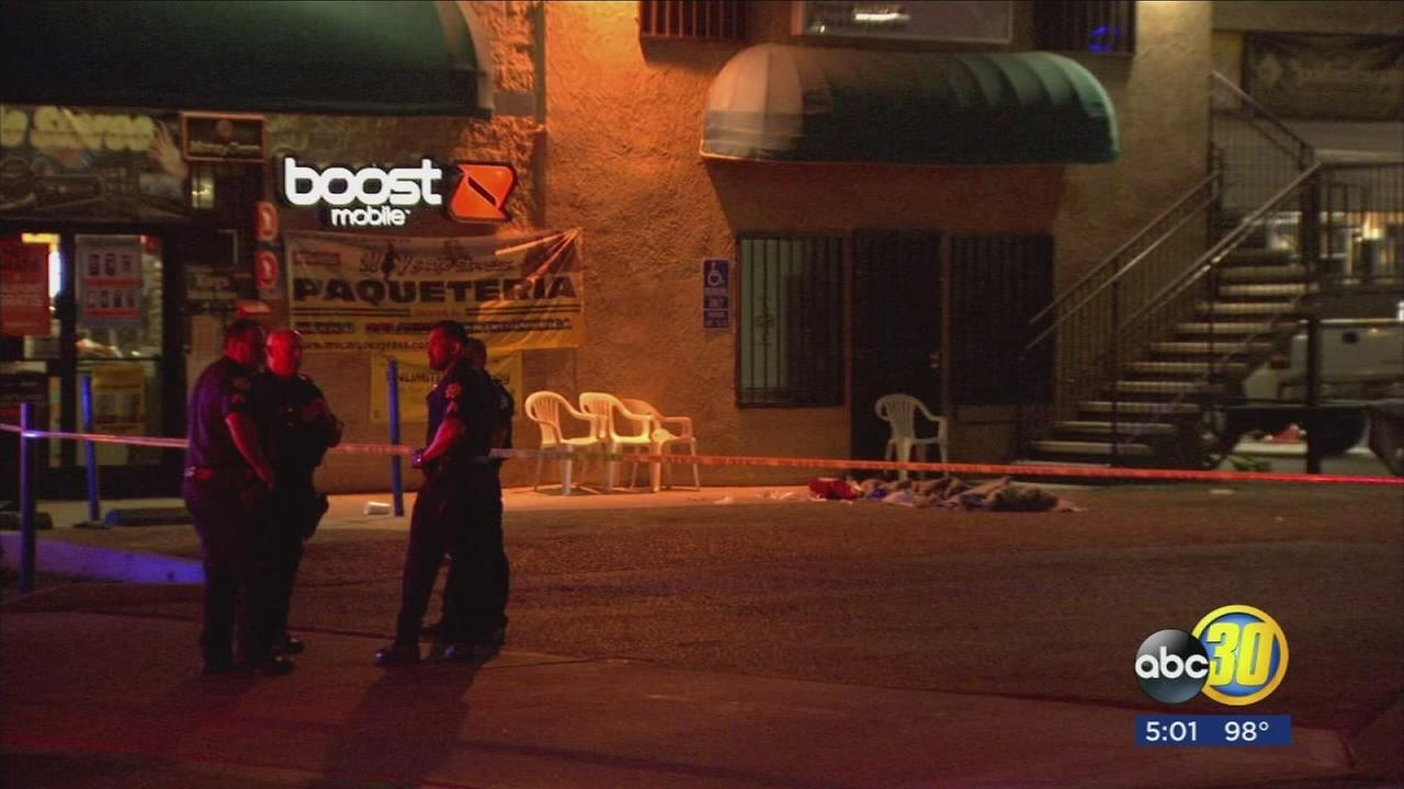 4 suspects remain outstanding in Fresno attempted armed robbery, several are related, police say