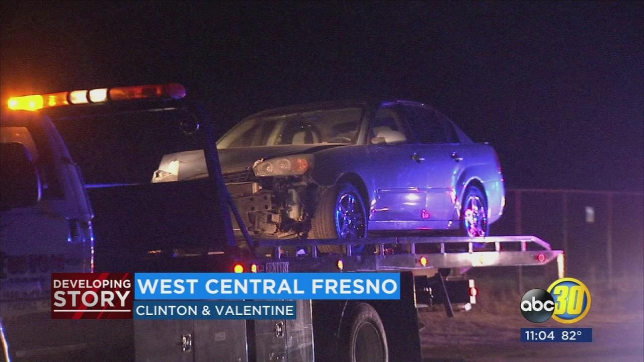 PG&E repaired power poles in West Central Fresno after car crash