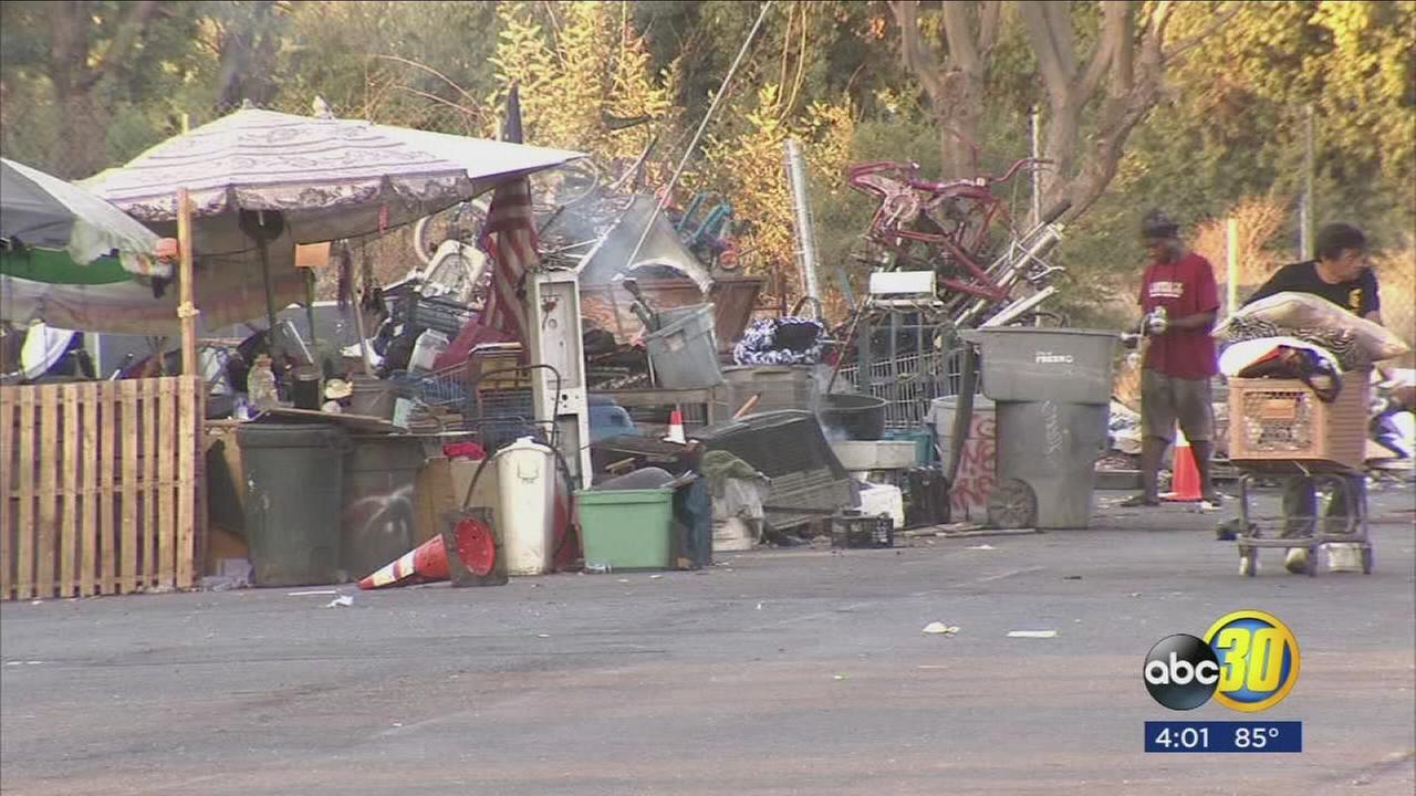 Fresno City Council considering proposed ordinance to ban outdoor camping