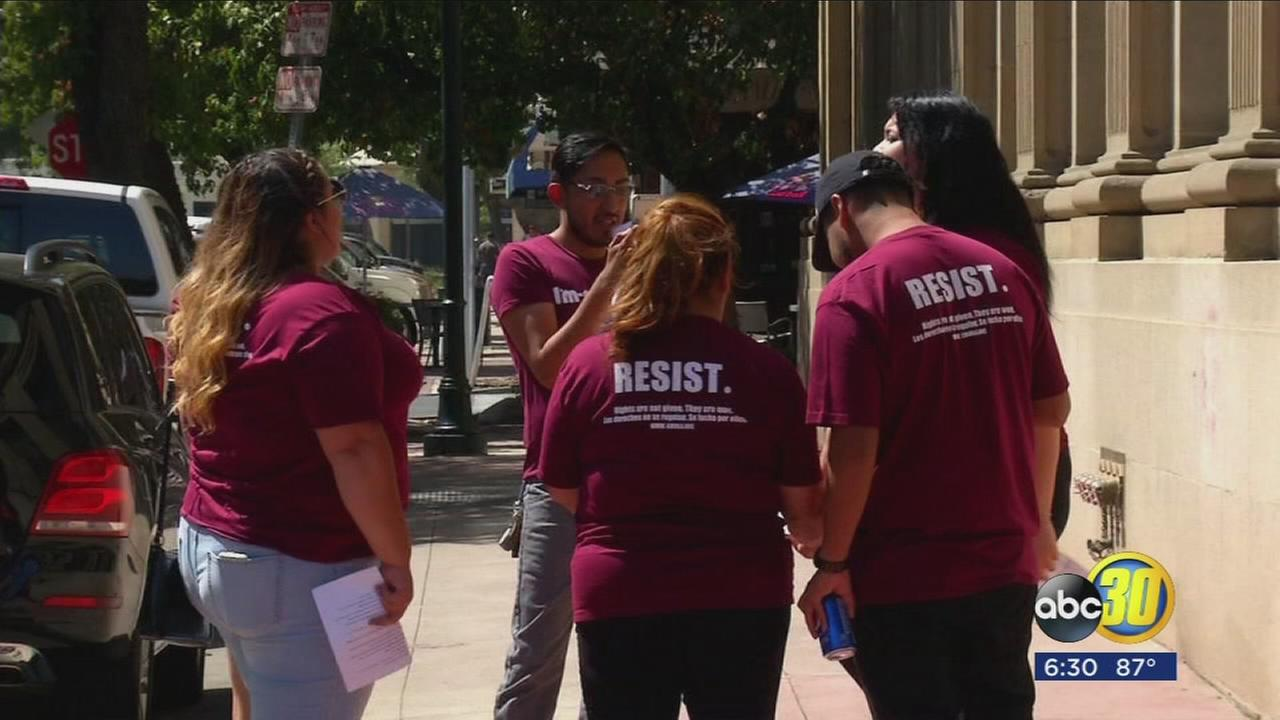 DACA supporters visit Congressman Nunes? office on 5th anniversary of program