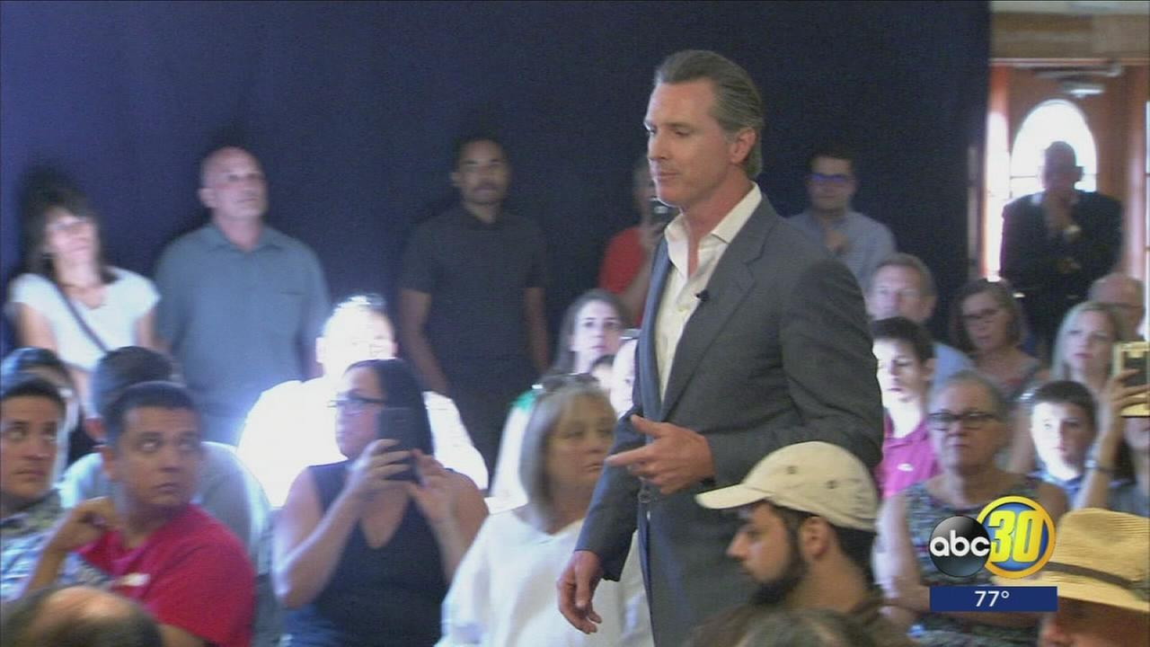 California Lieutenant Governor makes stop in Fresno