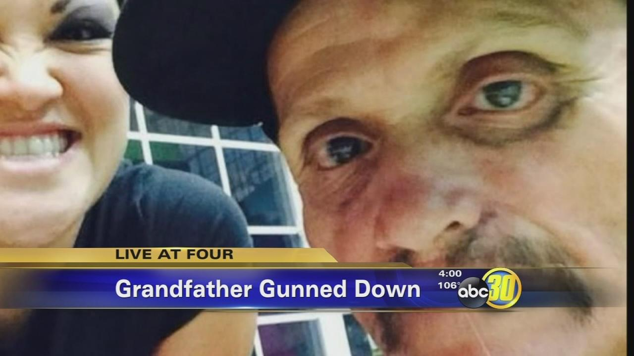 Grandfather gunned down by masked men in Porterville
