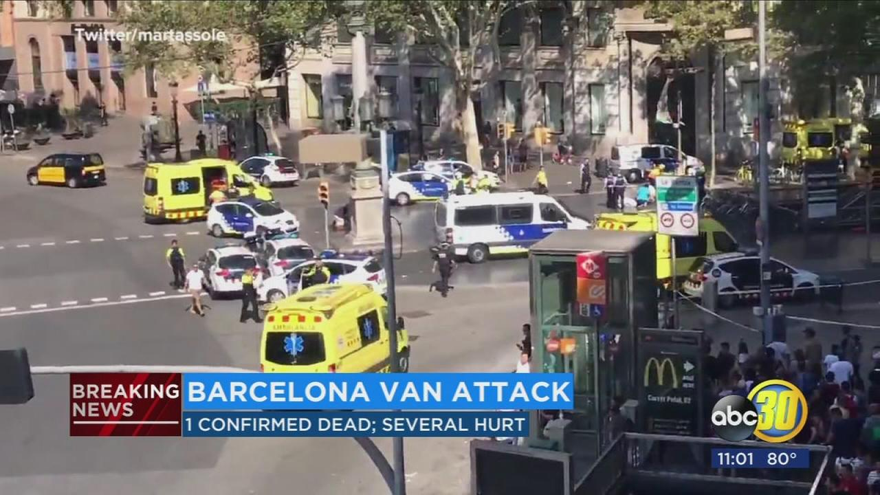 At least 13 dead, 50 injured in Barcelona terror attack