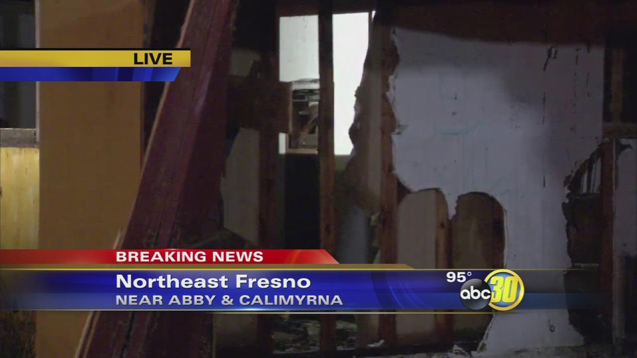 Firefighters investigating suspicious fire in Northeast Fresno