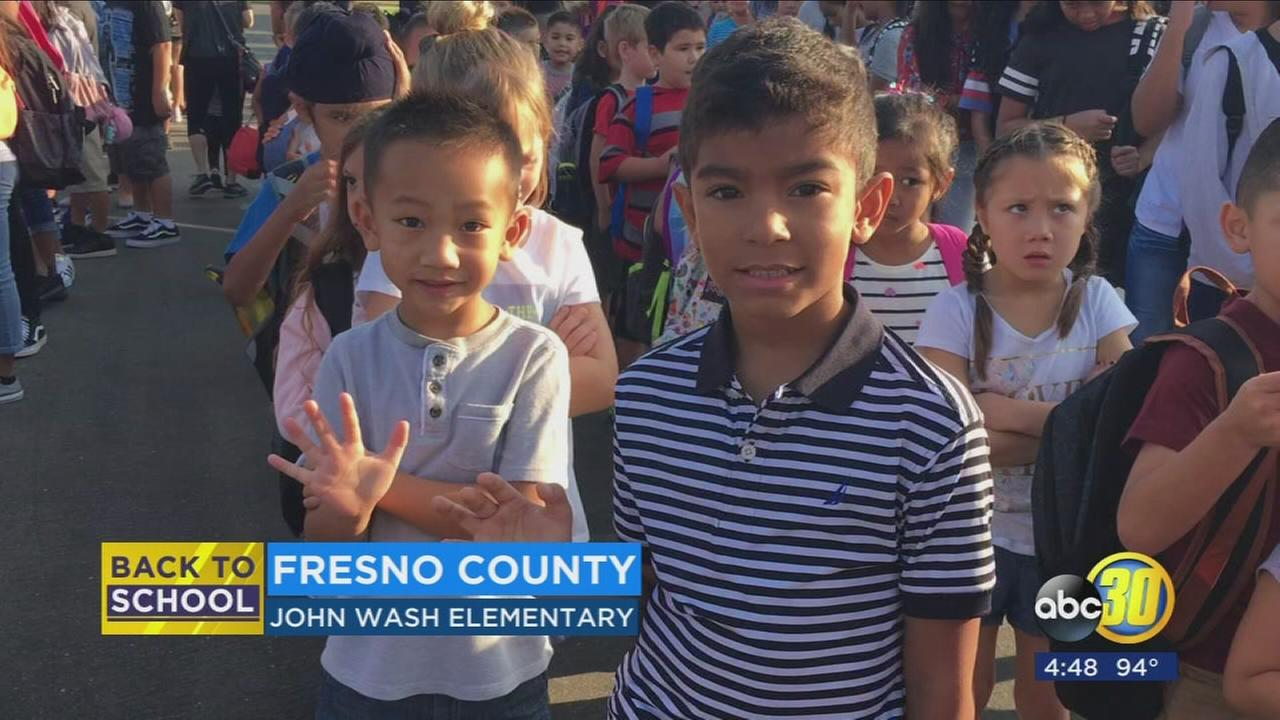 Thousands of students head back to school in Sanger Unified