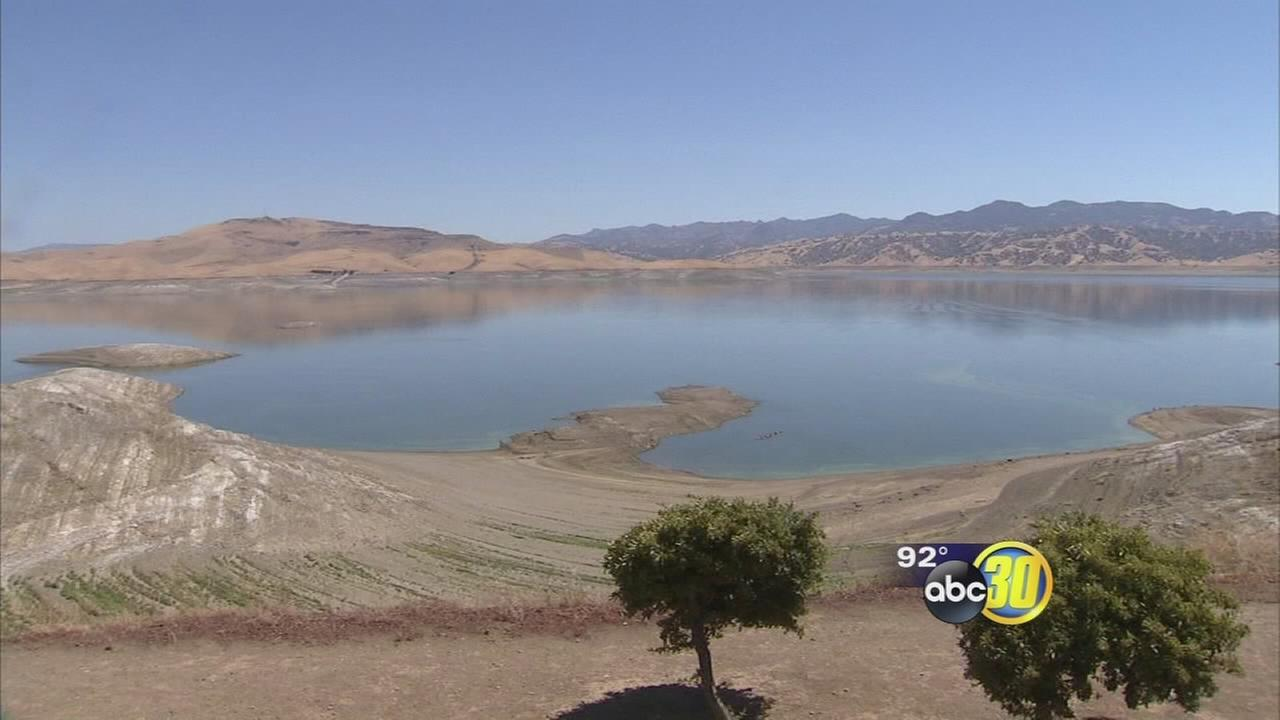 Drought officially grips large portion of California