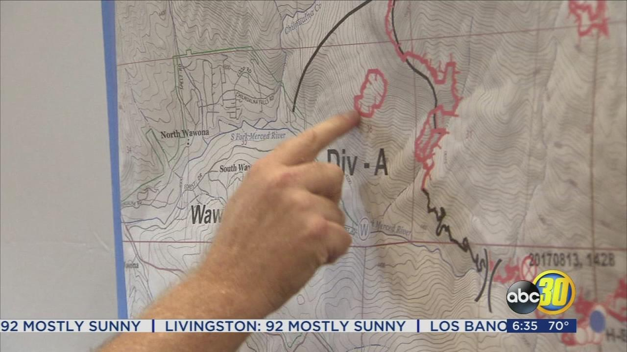 Wawona under mandatory evacuation as South Fork Fire threatens