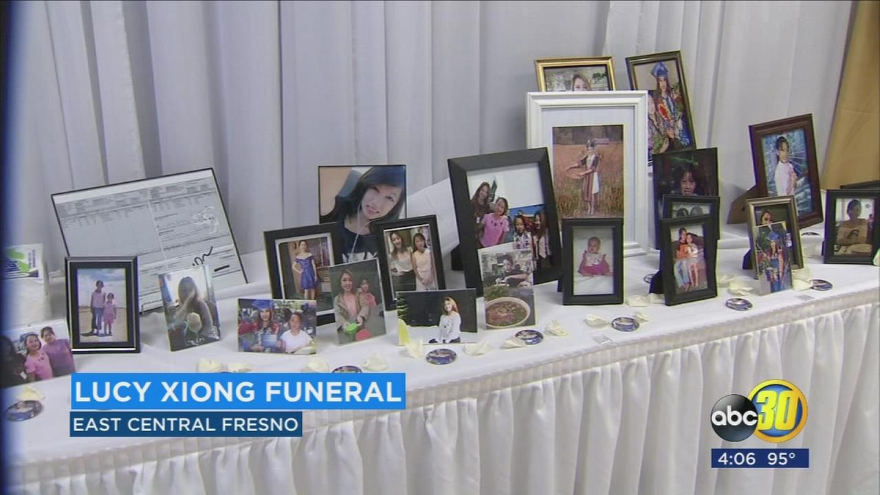 Friends and family come together for funeral for Lucy Xiong in East Central Fresno