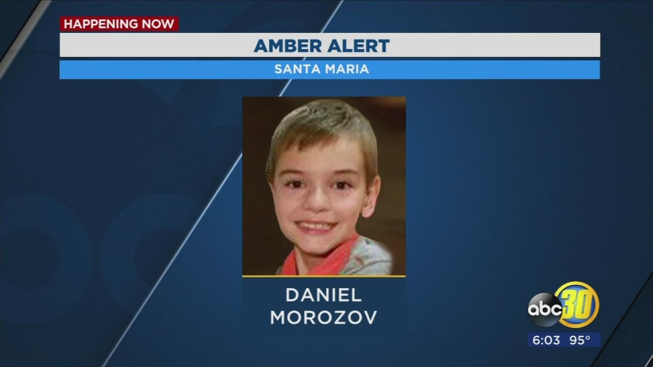 Jeep subject of Amber Alert found abandoned in Santa Barbara; boy and suspect still missing