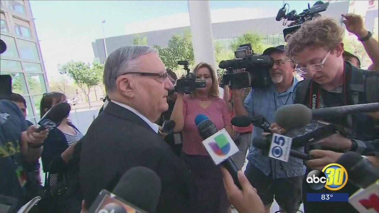 Fresno Countys Republican Party bringing former Arizona Sheriff to the Valley before sentencing date
