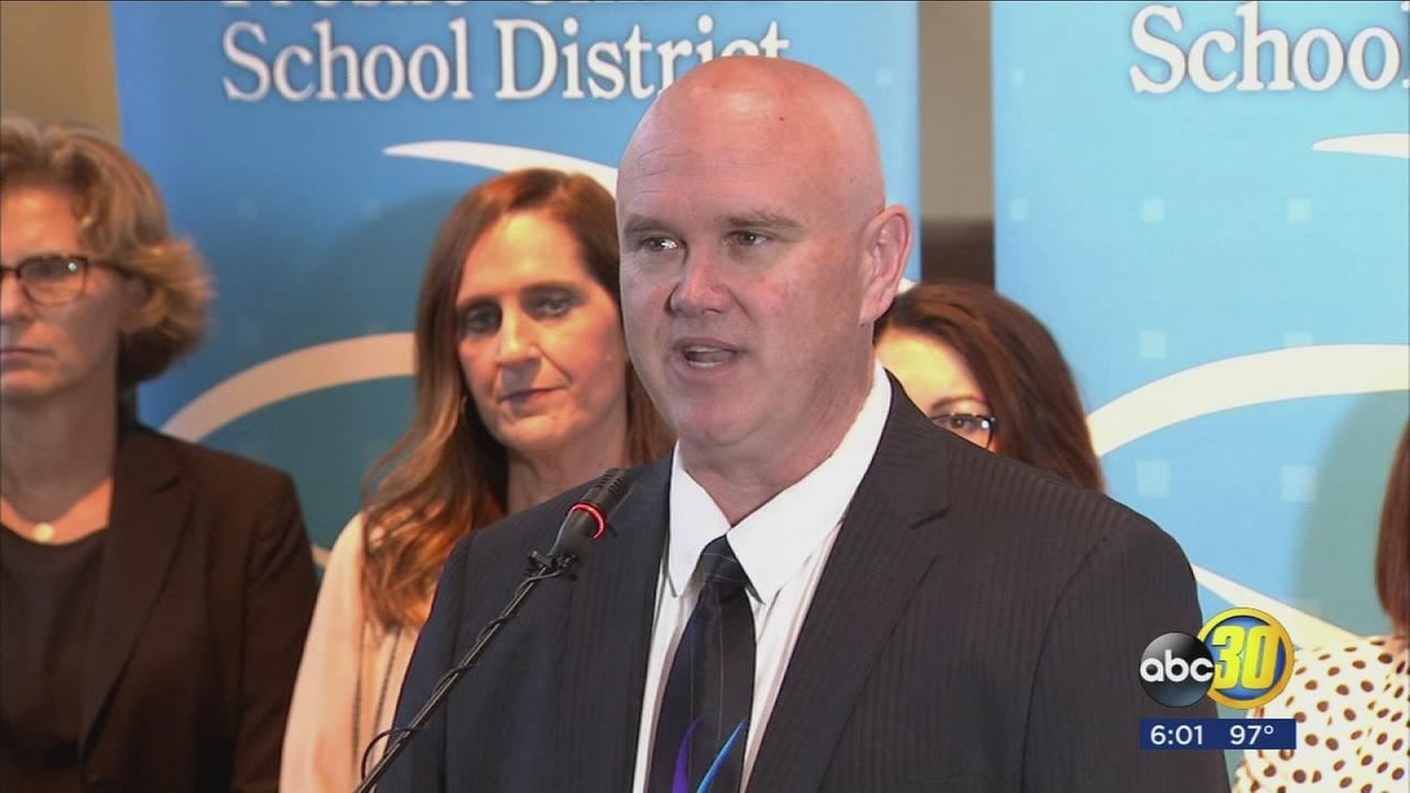 FUSD superintendent holds press conference in support of LGBTQ students