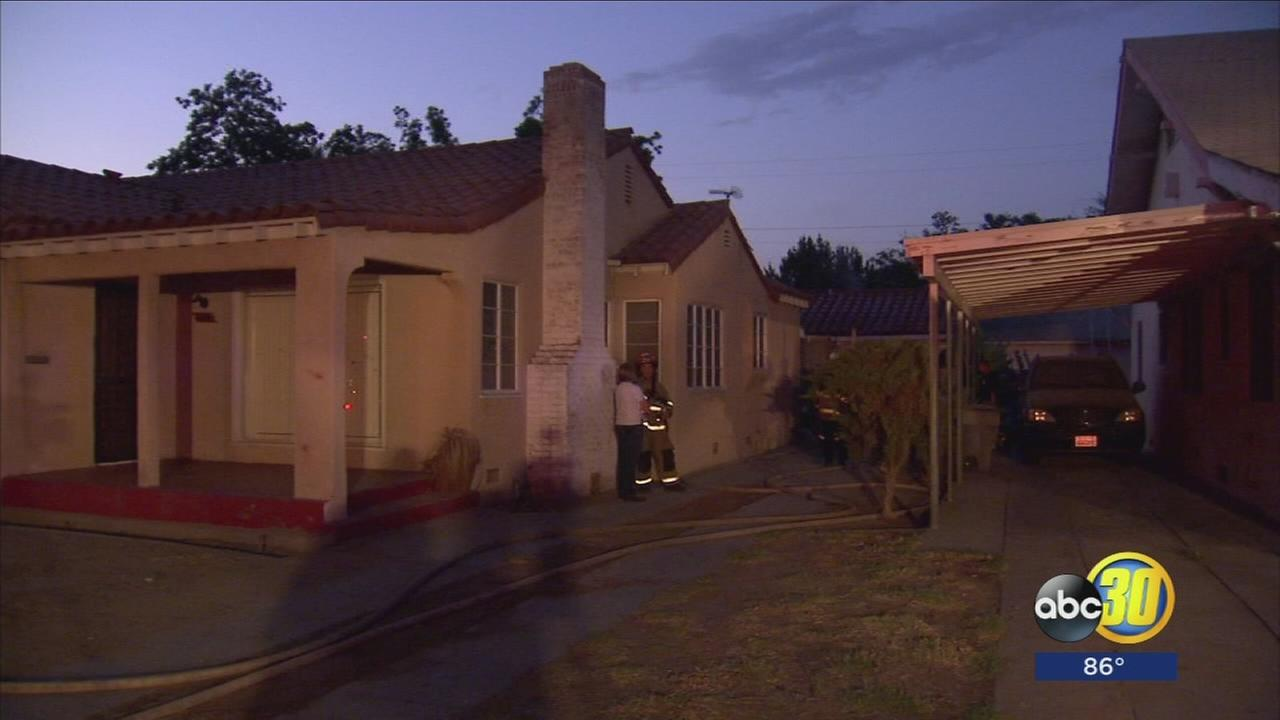 Garage fire in Southwest Fresno started by illegal marijuana grow