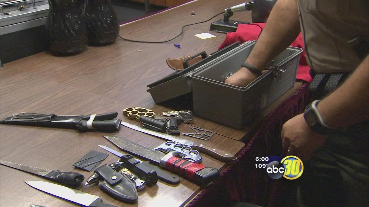 Weapon in disguise prompts courthouse changes