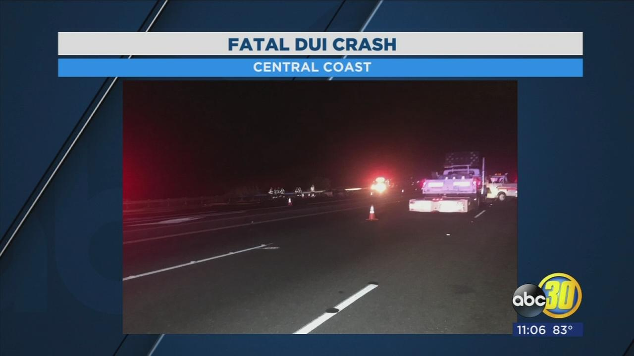 Fresno teen arrested after deadly DUI crash on the Central Coast