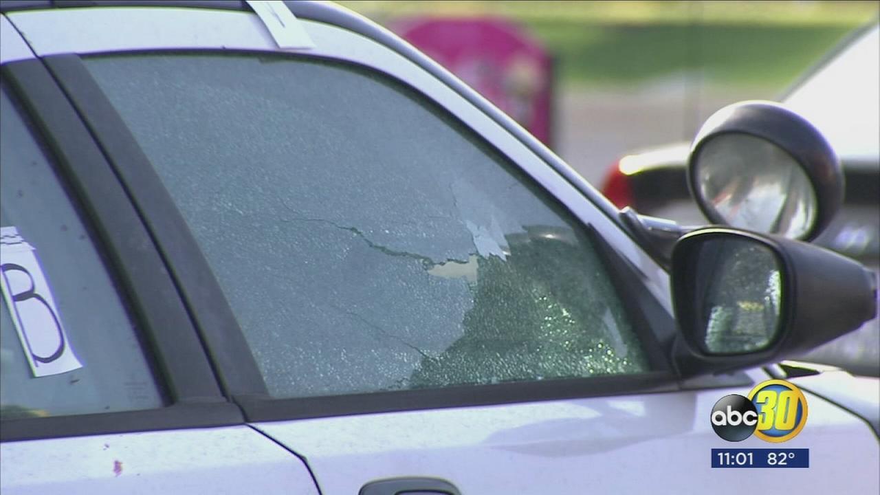 Fresno Police officer stabbed, suspect in custody