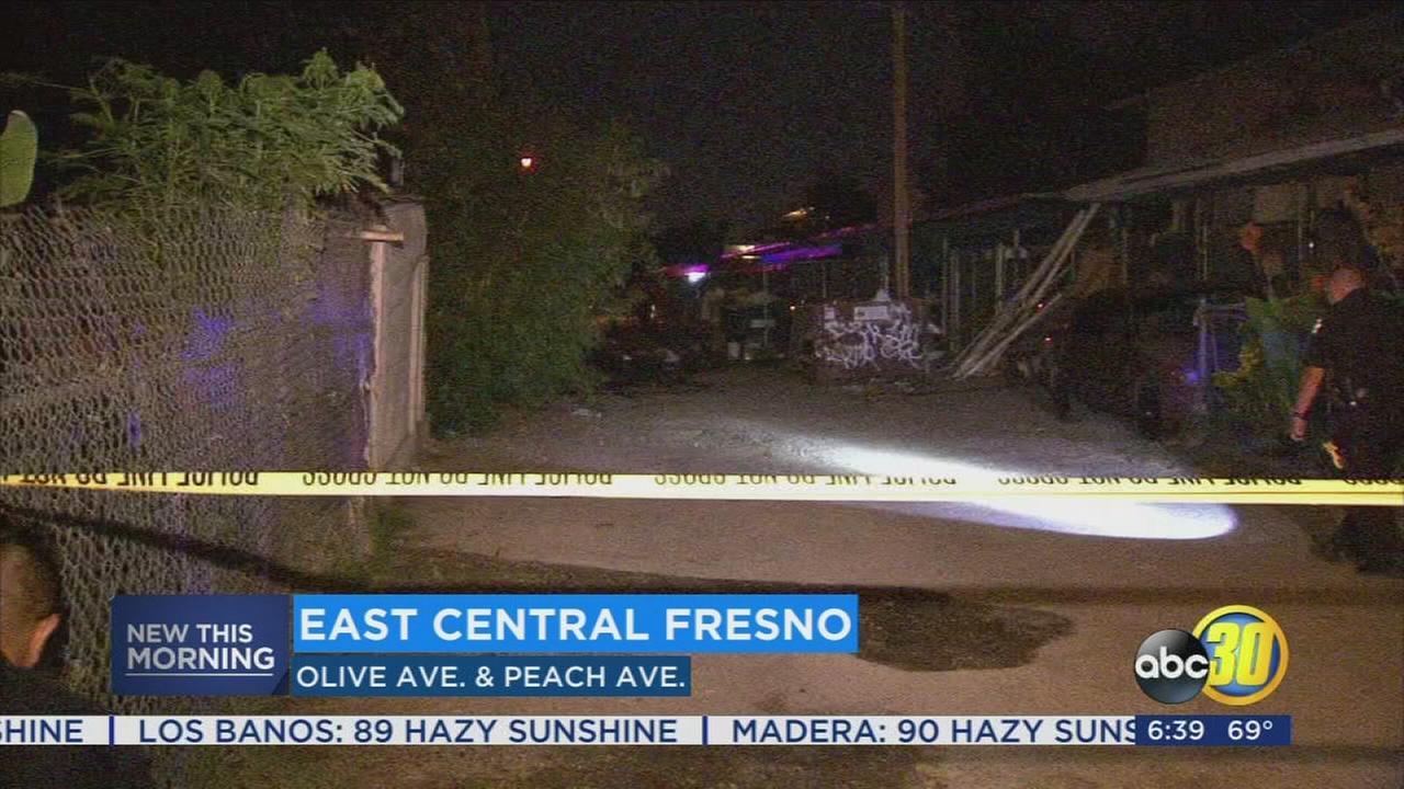 Man in critical condition following Fresno shooting