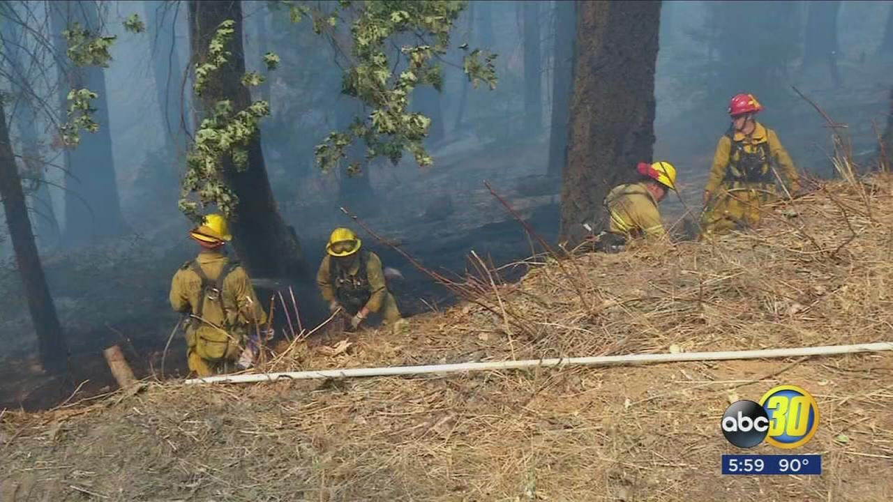 Tulare County?s Pier Fire 30-percent contained, 23,000 acres burned