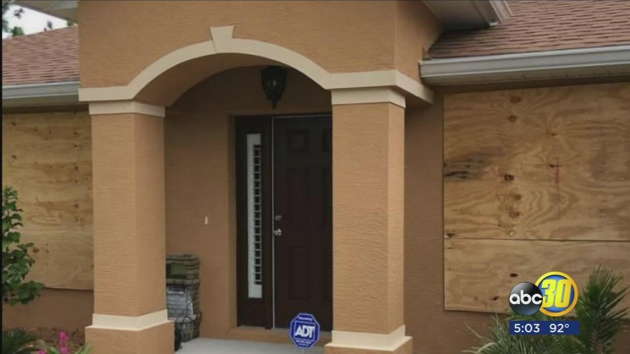 Fresno native describes moments before Hurricane Irma struck home