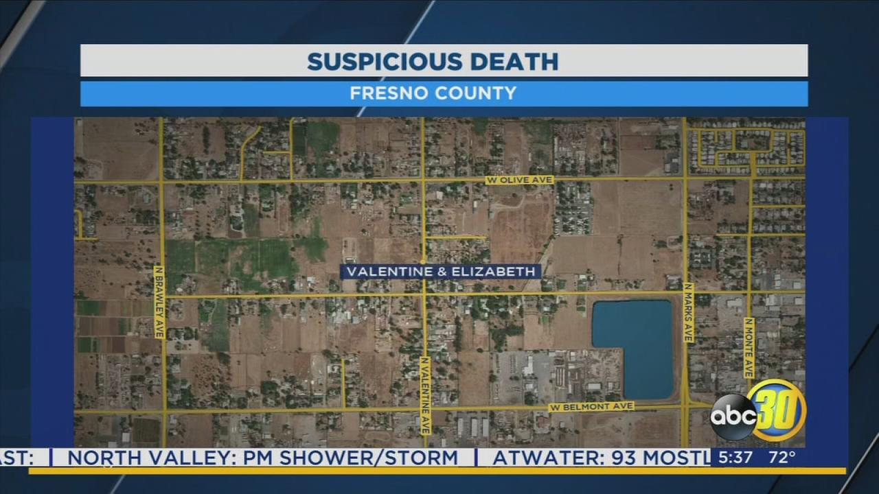 Fresno County deputies investigating suspicious death