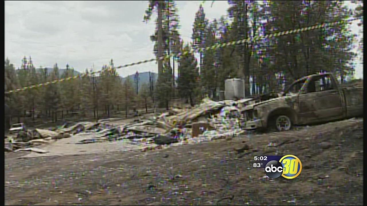 El Portal Fire leaves behind a path of destruction