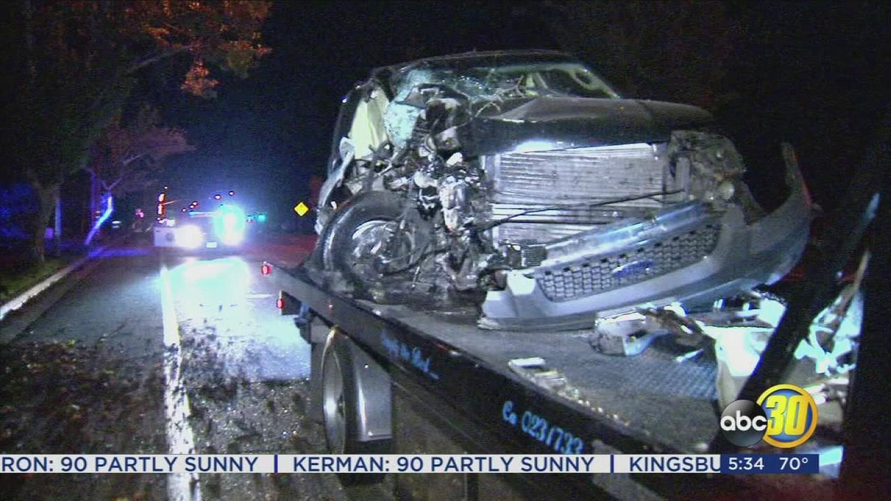 Crash in Northeast Fresno leaves 2 injured