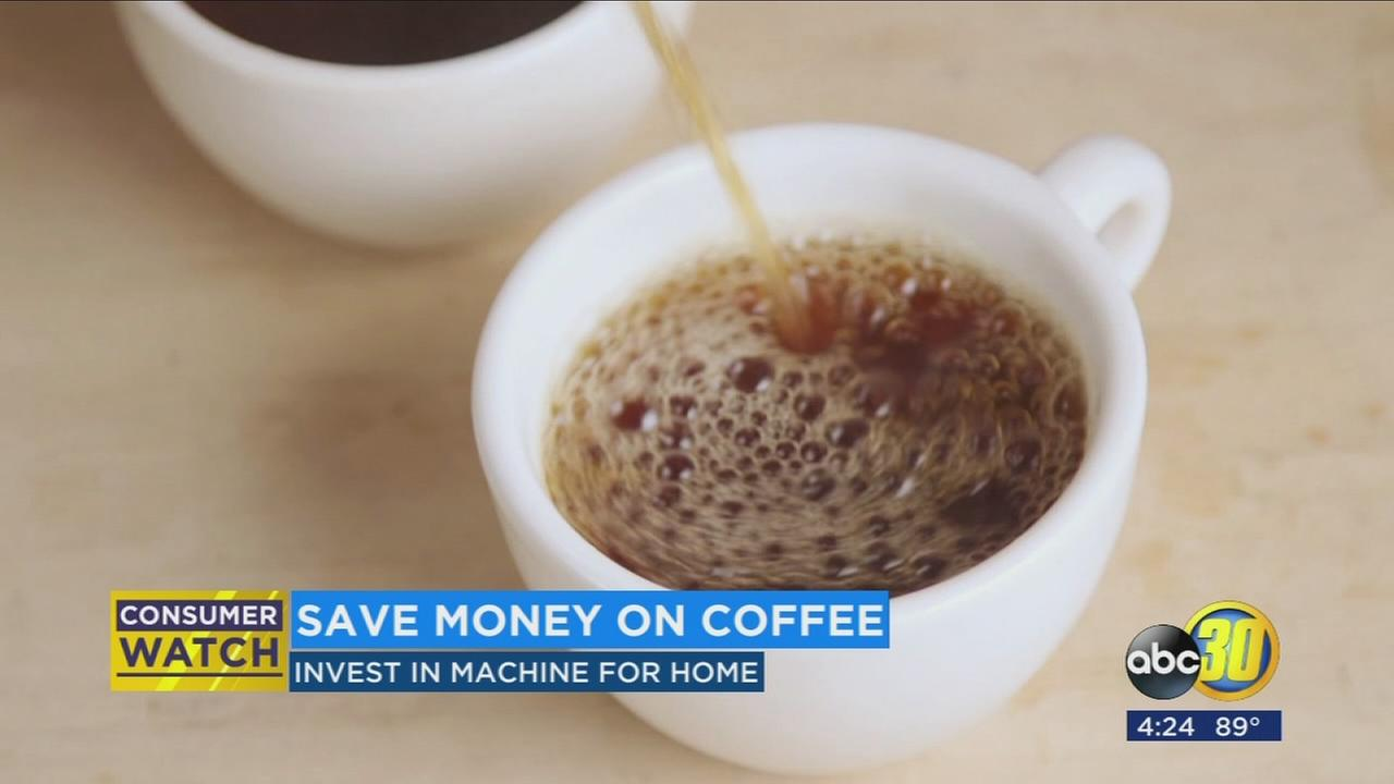 Save money, make your own coffee