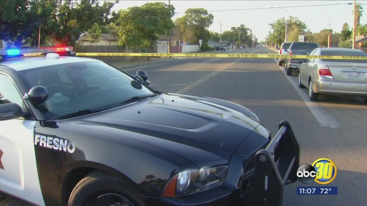 Fresno Police searching for suspects after shooting in Southwest Fresno