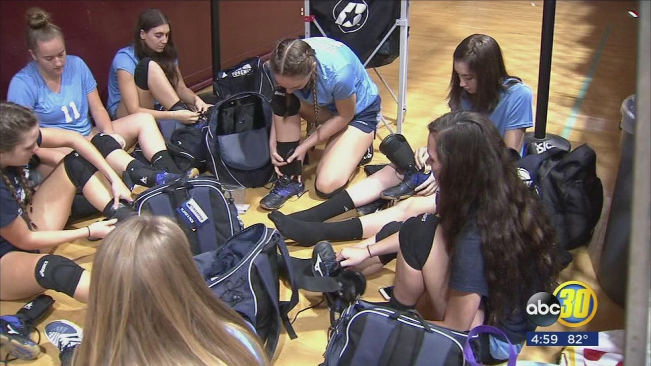 Thieves steal gear from Yosemite High Schools volleyball team during smash and grab