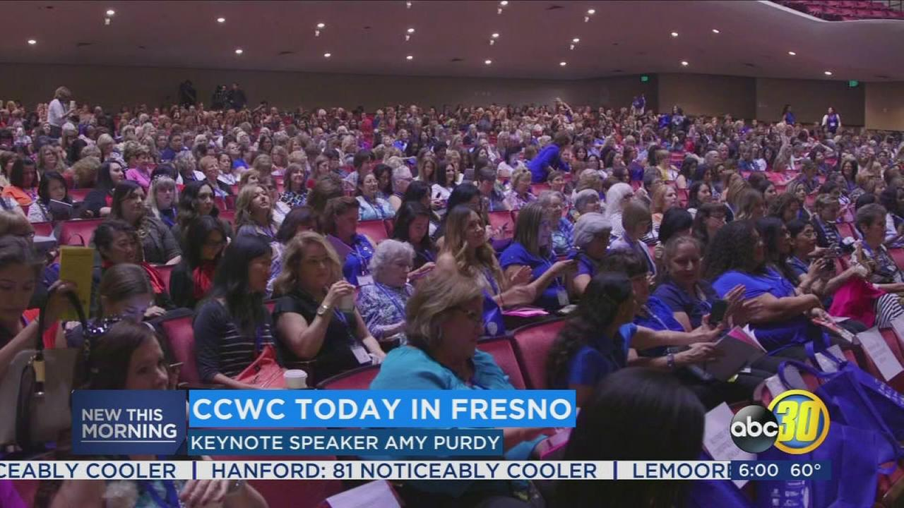Thousands of women converge on Downtown Fresno for the Central California Womens Conference