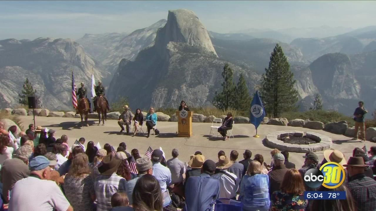 Dozens take oath to become U.S. citizens in front of Yosemites dazzling views
