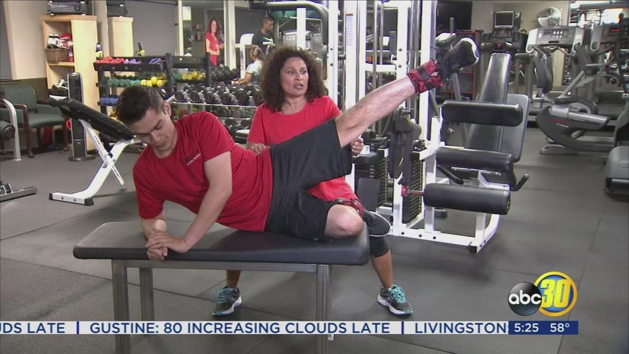 Workout Wednesday: Building those Buns with Ankle Weights