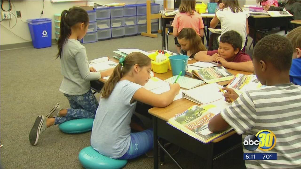 Fresno Unified offering flexible seating options for students