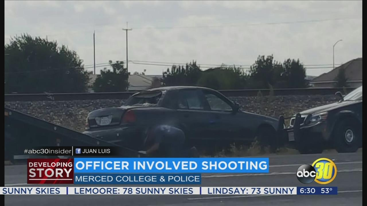 Officer opens fire in Merced after reckless driver leads authorities on high-speed chase