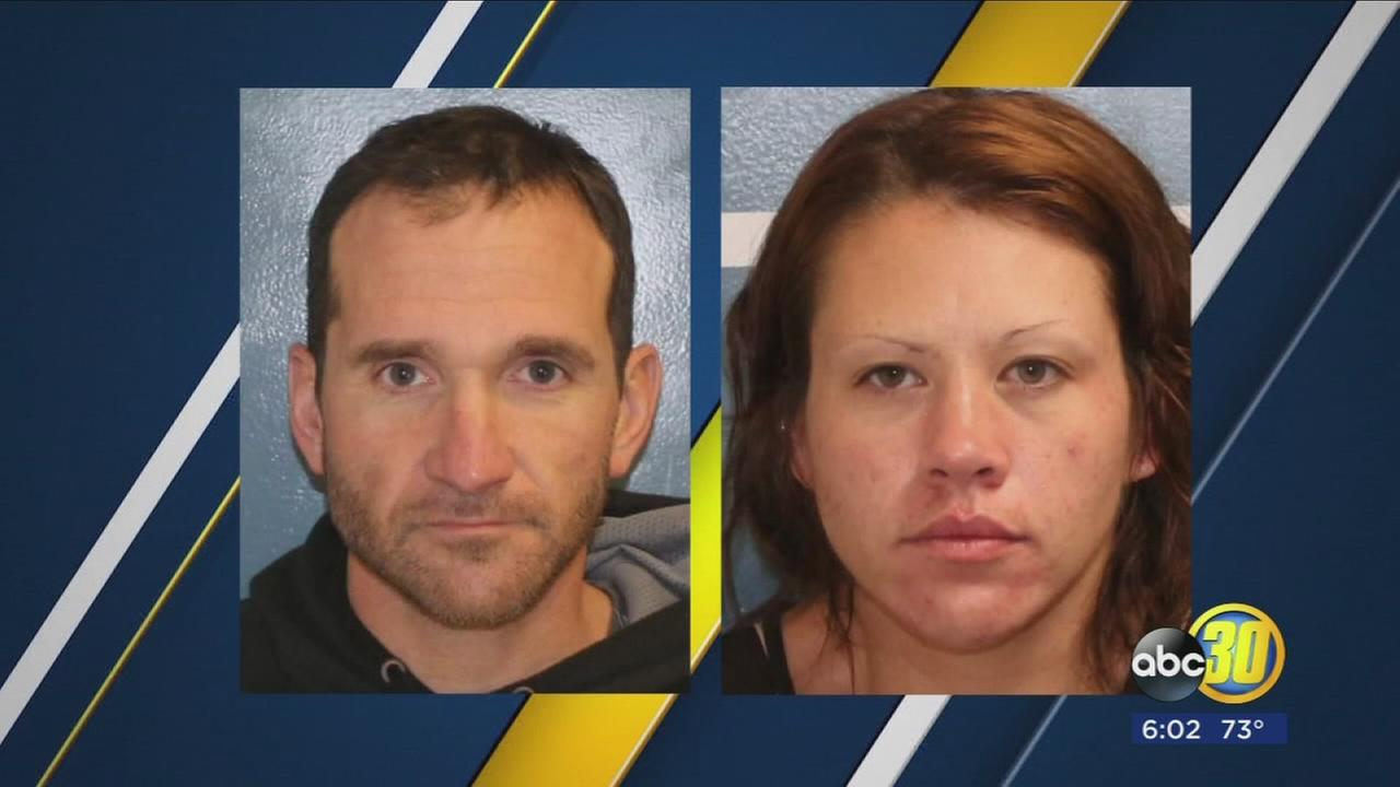 Couple arrested for allegedly robbing Visalia stores with pepper spray