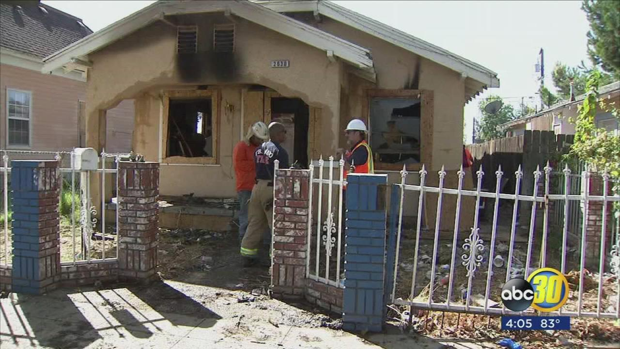 Vacant Central Fresno house to be demolished after numerous fires