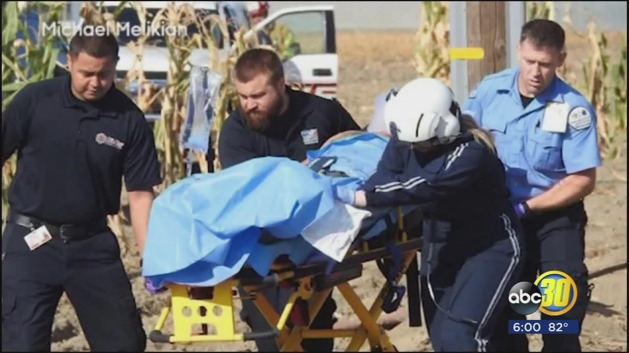 Victims of suspected honey oil explosion in Tulare County are lucky theyre not dead, sheriff says