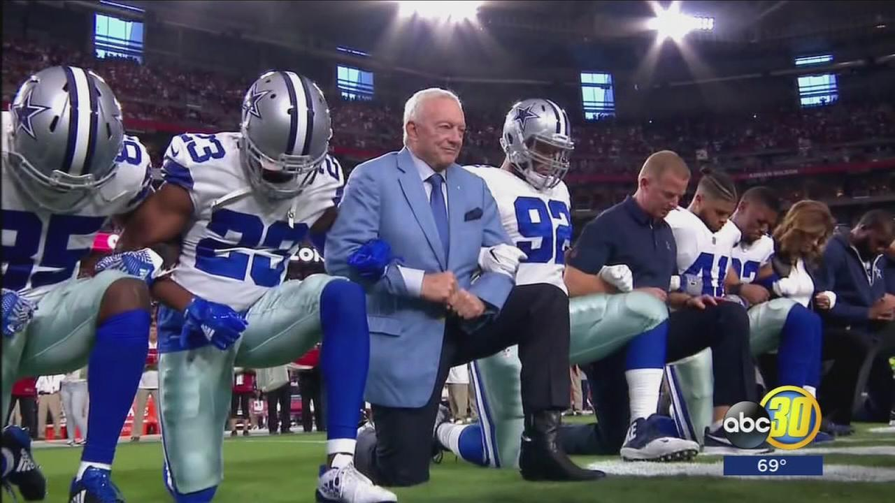 Monday Night Football breaks tradition and airs National Anthem