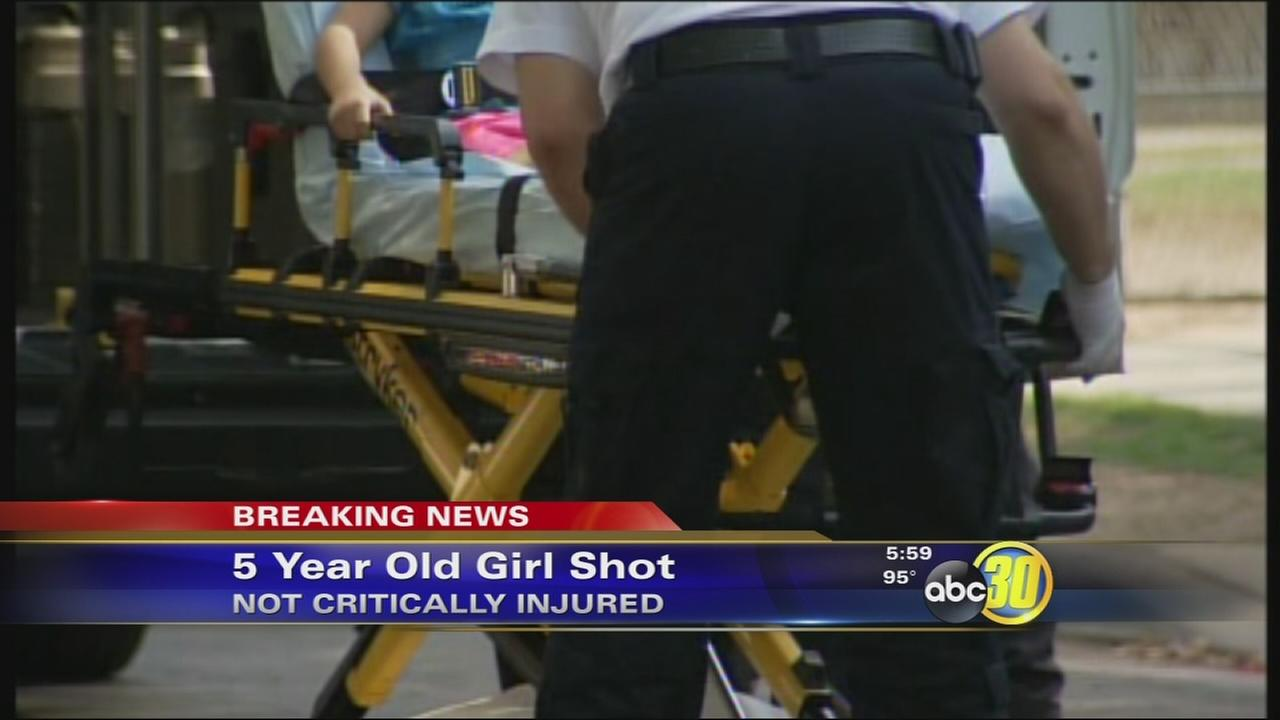 Gunfire injures 5-year-old girl in Southwest Fresno